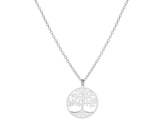 Tree of Life Necklace | Sterling Silver