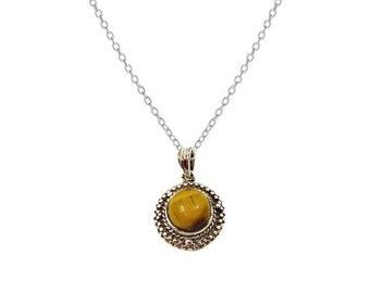 Rayat Eye necklace tiger | Ssread Silver