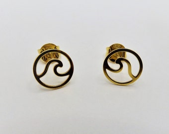 Ola Earrings ? Gold Bath