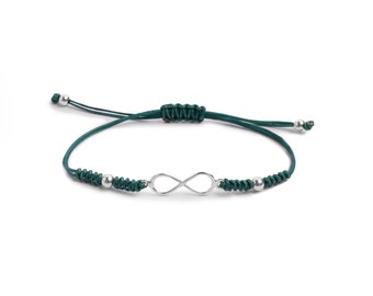 Infinite Snake Knot Bracelet ? Sterling Silver