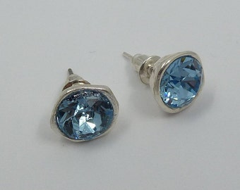 Iris Earrings ? Zamak and Swarovski