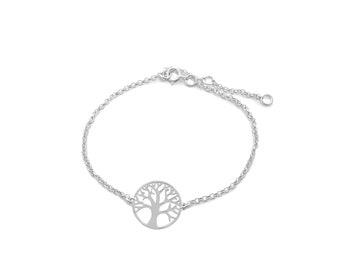Tree of Life | half-handed bracelet Ssread Silver