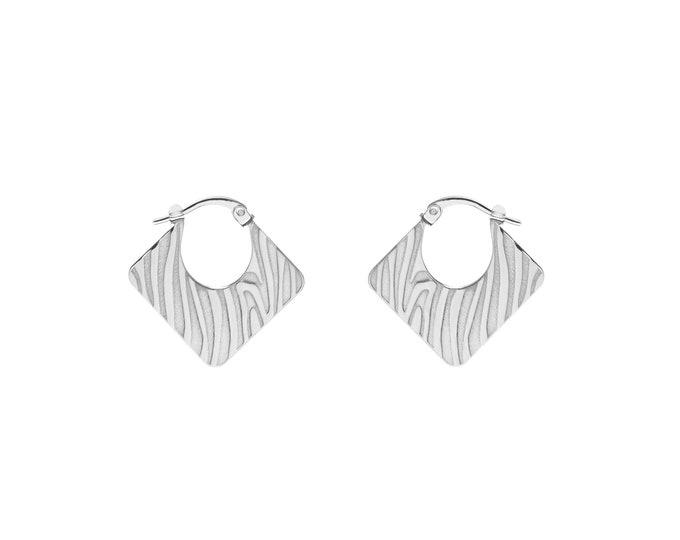 Animal Print Earrings | Sterling Silver