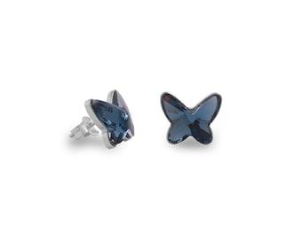 Small | Borboleta earrings Ssawar and Swarovski