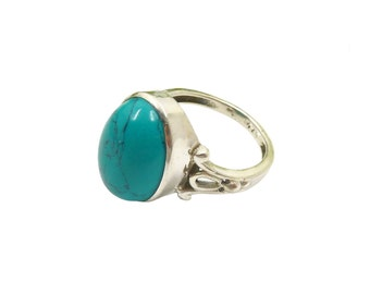 Adjustable Kinari Ring Turquoise | Ssread Silver