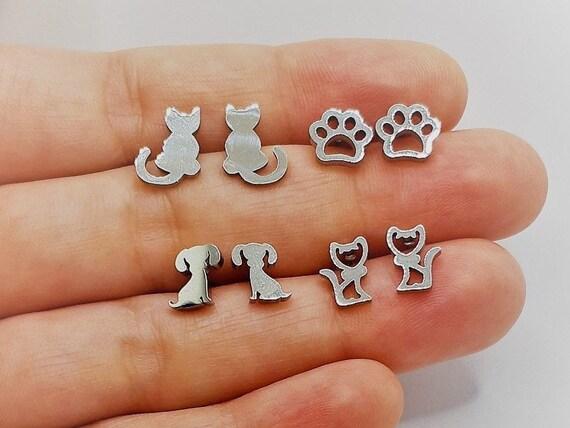 Steel Solidarity Earrings Stainless Steel