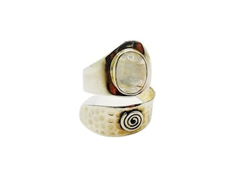 Sundari Ring Adjustable Minerals | Ssread Silver