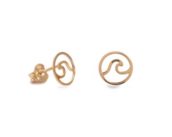 Ola Earrings ? Gold Bath