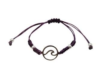 Snake Knot Wave Bracelet Sterling Silver
