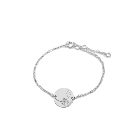 | Dandelion cross-section bracelet Ssread Silver