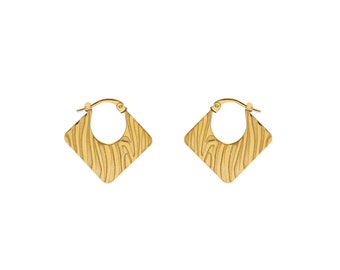Animal Print Earrings | Golden Bath