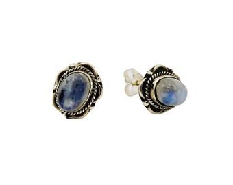 Earrings Anjali Piedra Luna | Ssread Silver