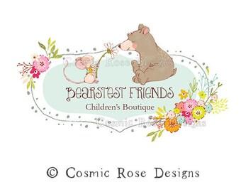 4d9e48eebb348 Baby bear logo   Etsy