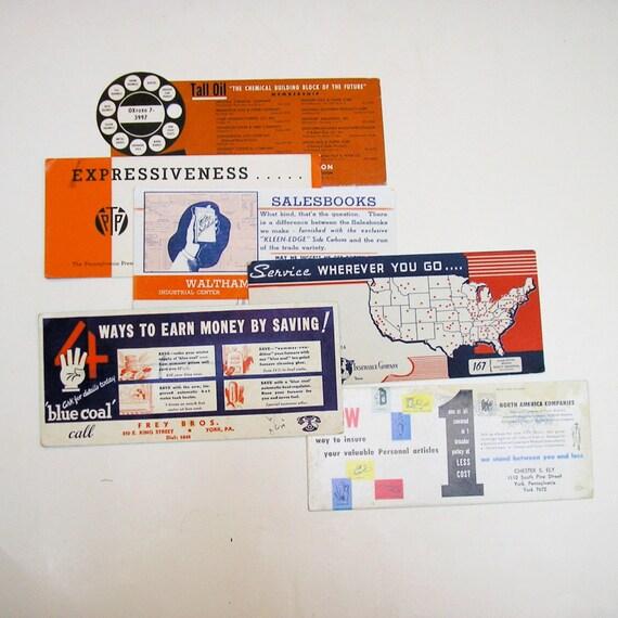 Cartes de buvard d'encre : Beaucoup de 69 cartes publicité de publicité cartes Vintage a1b15d