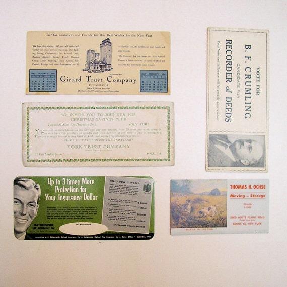 Cartes de buvard : d'encre : buvard Beaucoup de 69 cartes de publicité Vintage a6d494