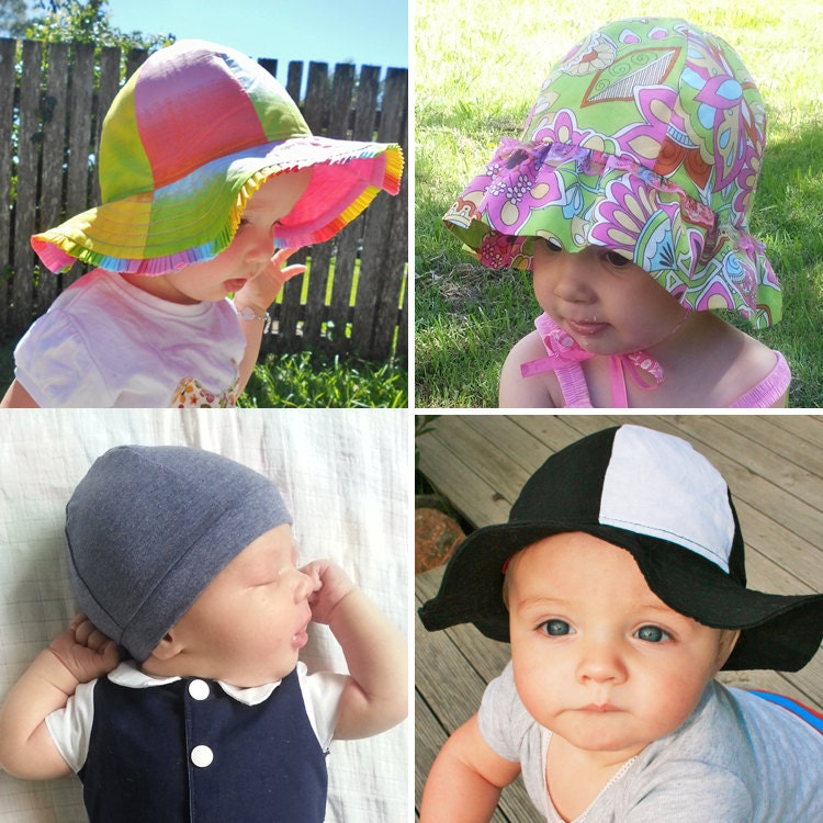 RAINBOW HAT Pattern Boys Girls Straight Brim   Ruffle Brim    9d87e0ae1c1a