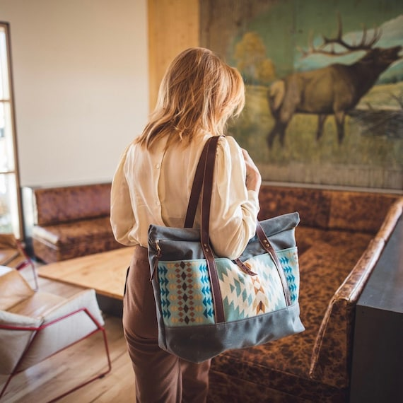 Made with Pendleton Fabric Travel Pouch