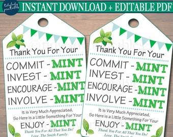 WCF Shower Breath Mint Favors TTL Mint to Be Labels Personalized Mint Favor Stickers Retiremints Yellow Watercolor Favors
