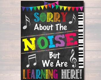 Music Classroom Etsy