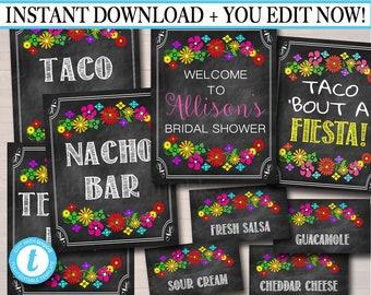 567a4f3d0a0a Editable Fiesta Signs