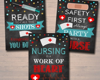nursing graduation party decorations etsy