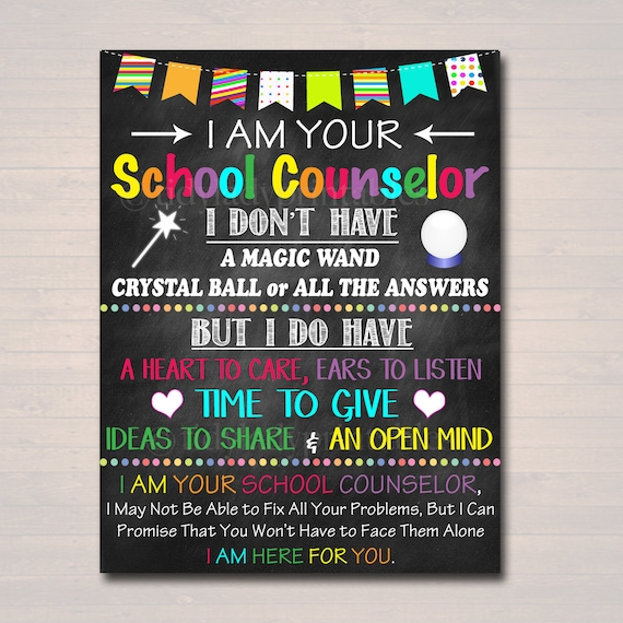 Merveilleux School Counselor Office Decor I Am Your School Counselor | Etsy