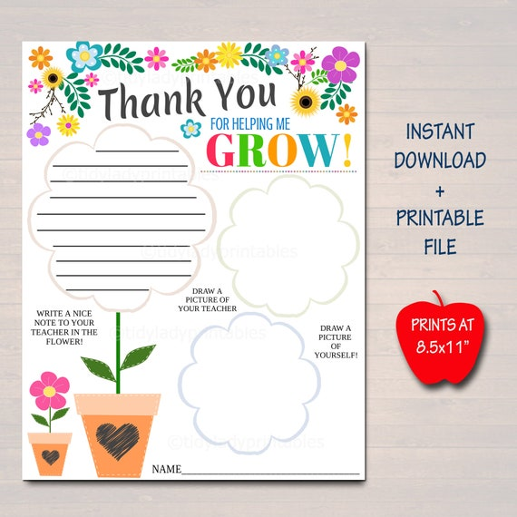 Teacher Appreciation Week Printable Classroom Teacher Survey All About My Teacher Worksheet Teacher Thank You Coloring Page Printable By Tidylady Printables Catch My Party