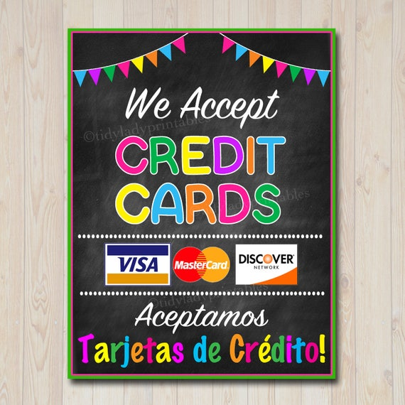 photo about We Accept Credit Cards Printable Sign named PRINTABLE Credit score Card Signal, Fundraising Booth, Bake Sale, Cookie Booth Indicator We Settle for Credit score Playing cards Scouts Cookie Banner, Cookie Booth Poster