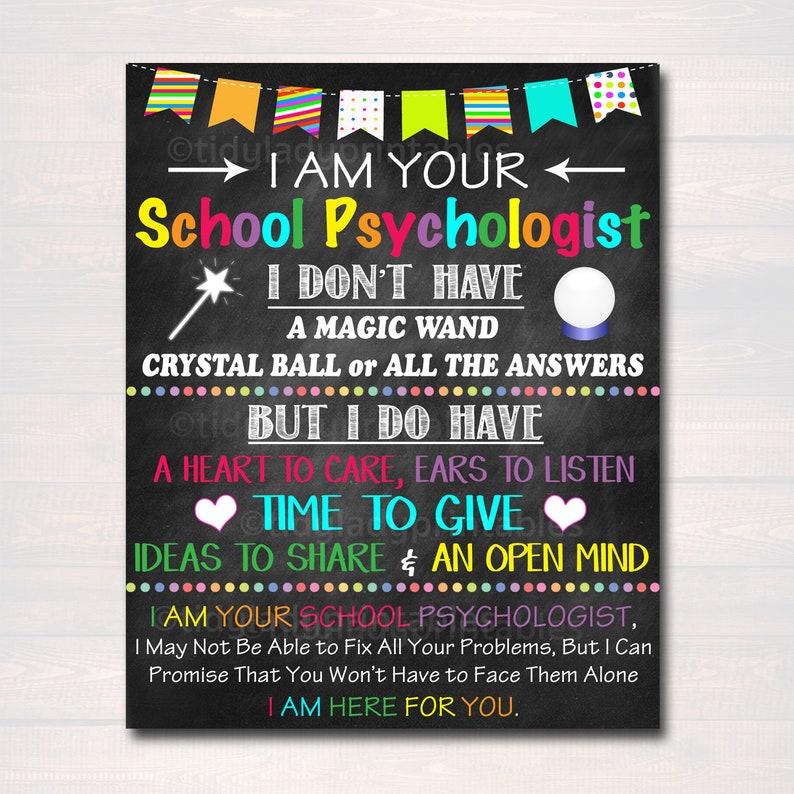 School Psychologist Office Decor I Am Your School Etsy
