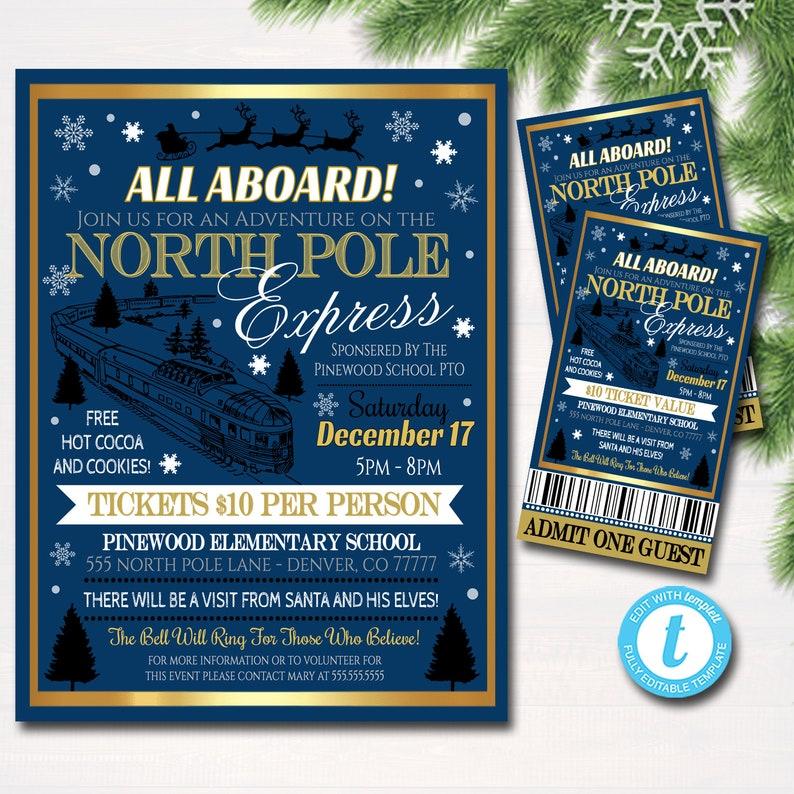 polar express golden ticket template.html