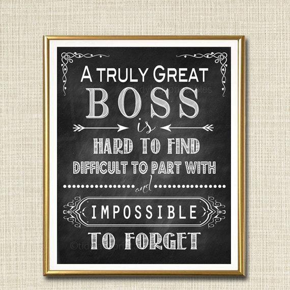 boss retirement gift boss s day gift manager supervisor etsy