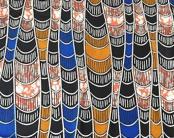 Fat quarter, African fabric, african print, ankara fabric, wax print, sewing fabric, tribal fabric, floral fabric, african material