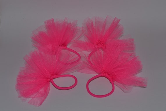 Princess tutu hair tie Pink Hair ties Cute hair ties Girly  627efede68b