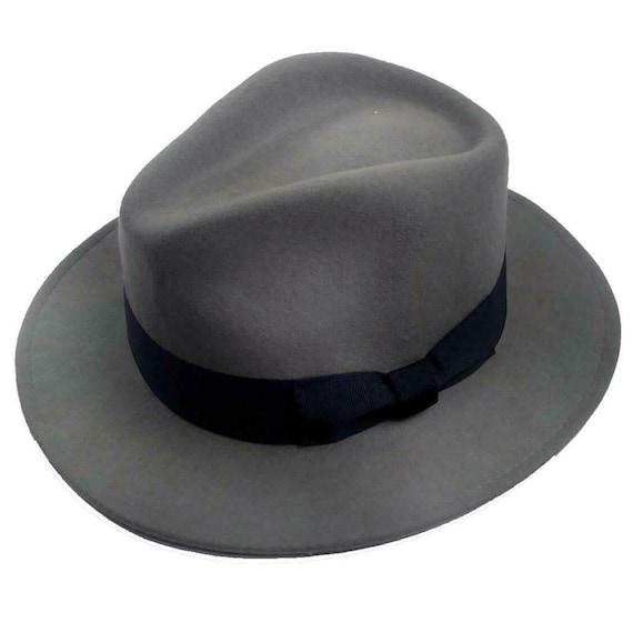Classic Mens Fedora Hat | Authentic 1940s Look Lig