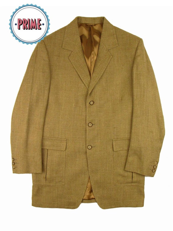 Vintage Jacket - Vintage Saville Row Linen Leisure