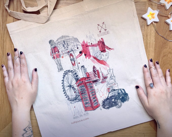 London Town Tote Bag