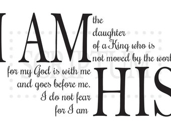 Daughter King Decal Etsy