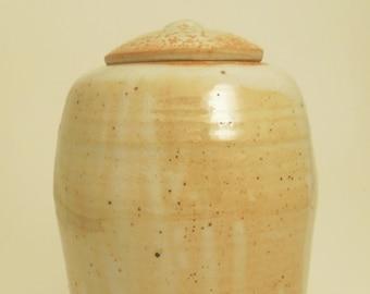 Lidded Ginger Jar