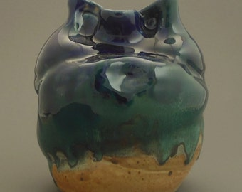 Altered Stoneware Vase 2