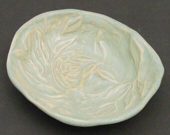 Pale Sea Green Porcelain Dish