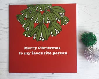 ** CHRISTMAS CARDS **