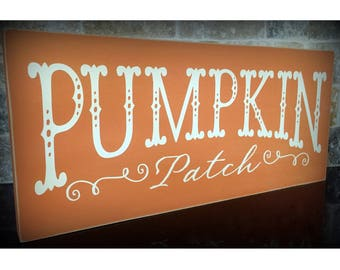 Pumpkin Patch Sign, Fall Decor, Porch Sign, Wall Sign, Wood Sign, Pumpkin Decor, Harvest Decor, Farmhouse Sign, Farm Style Sign, Epsteam