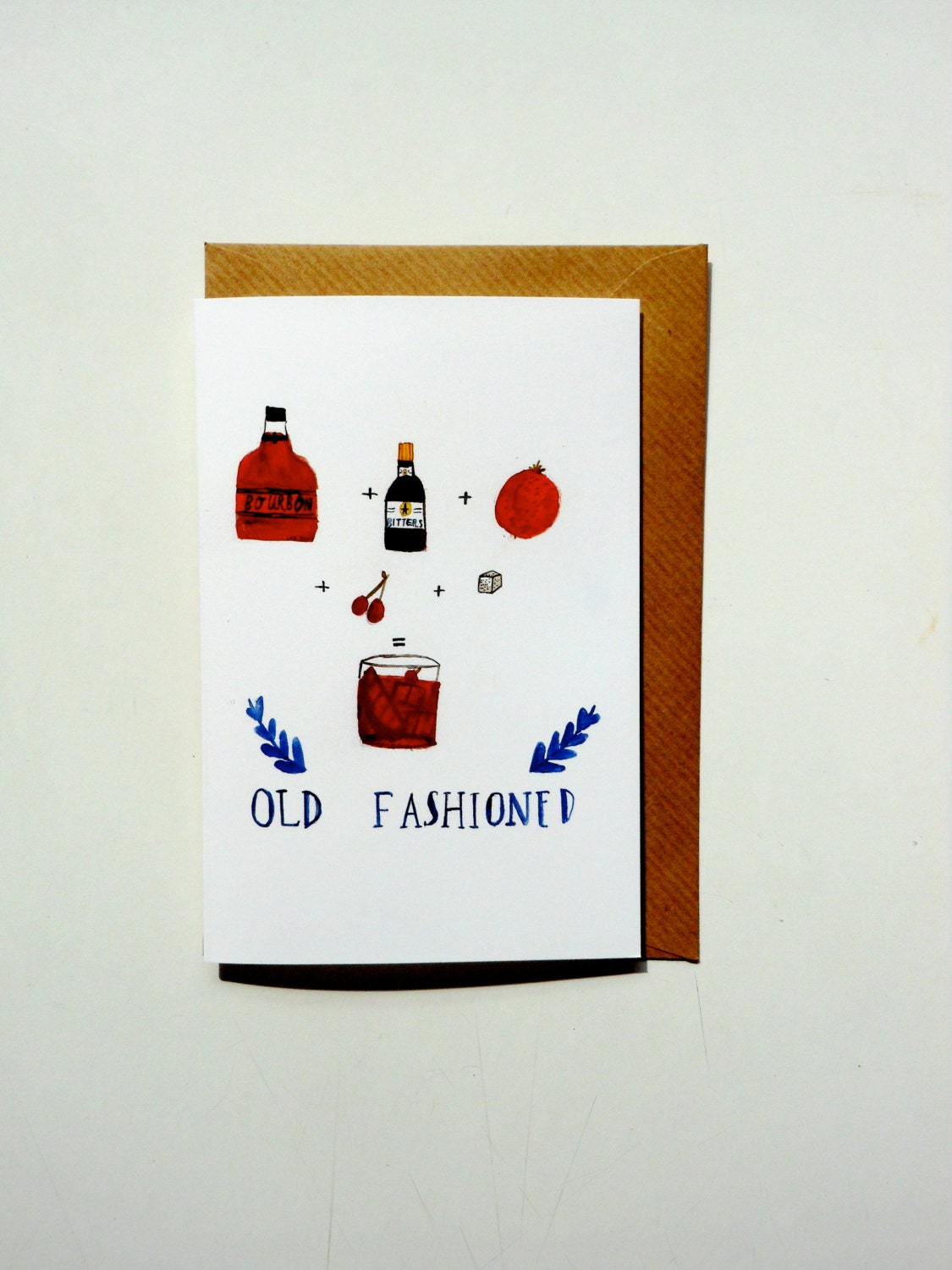 Old Fashioned Greetings Cards Etsy