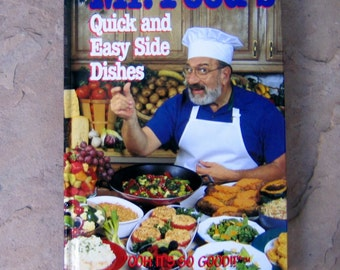 Quick easy recipes etsy mr foods quick and easy side dishes 1995 mr food cookbook cook book vintage forumfinder Image collections
