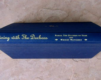 Dining with The Duchess Cookbook, Dining with The Duchess of York and Weight Watchers Cookbook, 1998 Vintage Cookbook
