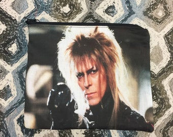 Labyrinth David Bowie Goblin King Zipper Pouch