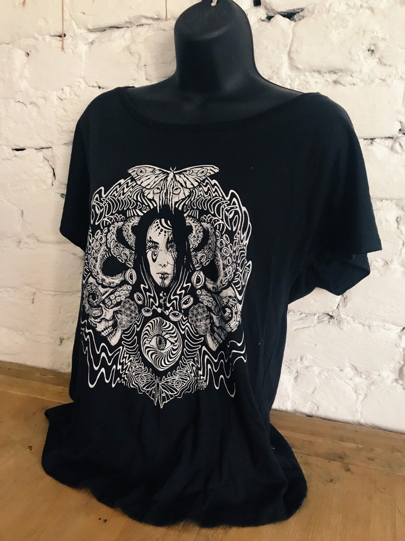 Straight to my Head  Black Dolman Off the Shoulder Tee  image 0