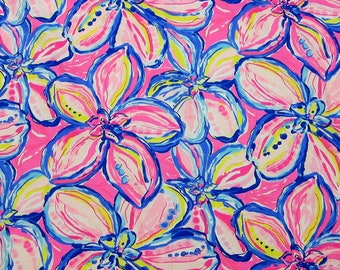 e32b645adf65 1 Yard BTY Lilly Pulitzer Cotton Dobby The Sunny Side