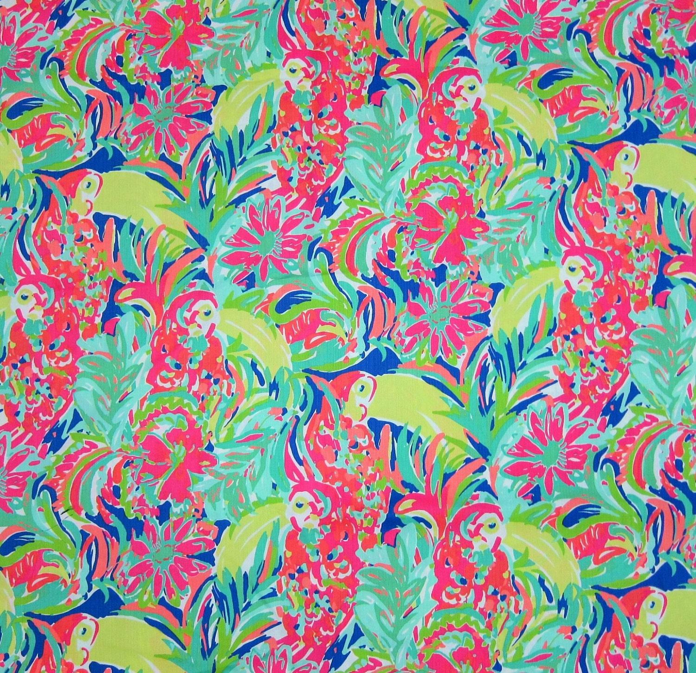 1 Hof 36 x 57 Lilly Pulitzer Dobby Baumwolle Stoff | Etsy