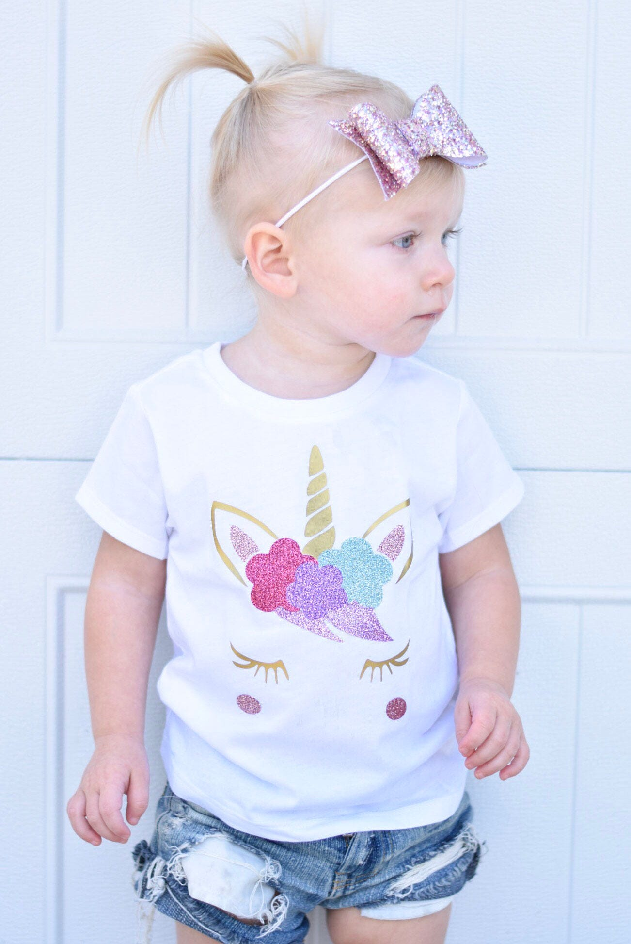 personalized unicorn shirt girls unicorn shirt baby